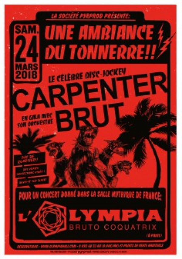 Carpenter Brut à l\