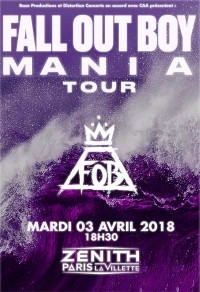 Fall Out Boy à Paris